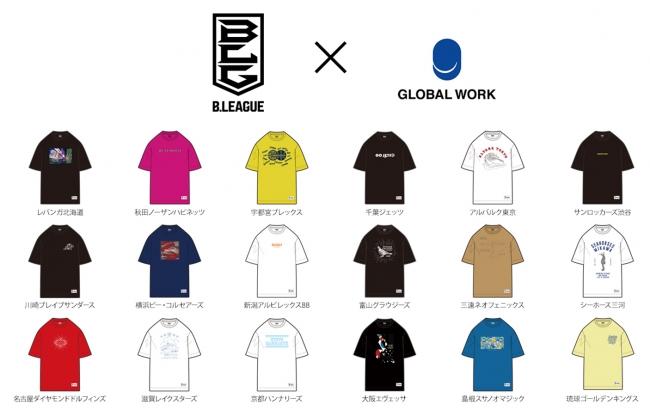 Tシャツ(メンズ) 各¥2,900+tax サイズ:S M L