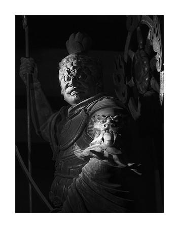 増長天立像 東寺 © Yoshihiro Tatsuki