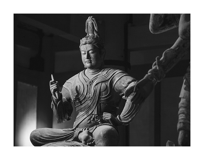 帝釈天半跏像 東寺 (C) Yoshihiro Tatsuki