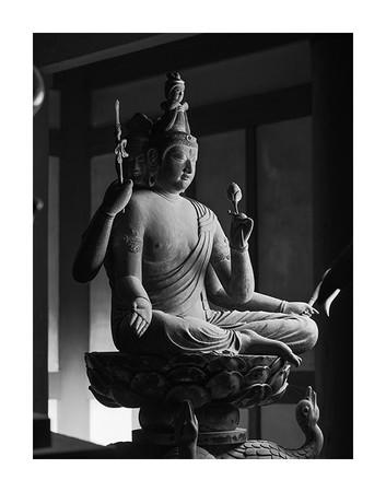 梵天坐像 東寺 © Yoshihiro Tatsuki