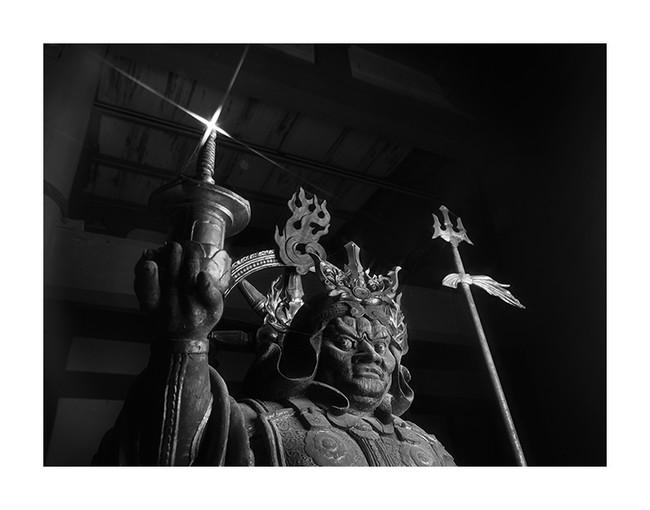 多聞天立像 東寺 © Yoshihiro Tatsuki
