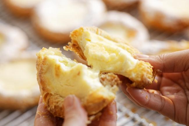 チーズクリームたっぷり!フロマージュデニッシュ