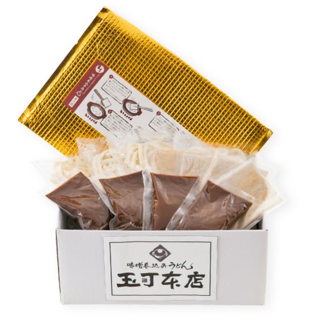 【味噌煮込みうどん(4食)】3,280円(税込)