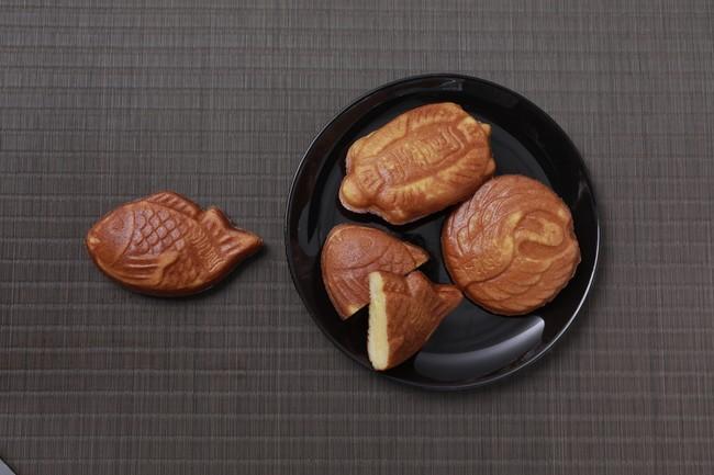 ▲蜜芋たい焼き(りんご&クリームチーズ) 3個 ¥750(税別) /蜜芋たい焼き(いちじく&ブルーチーズ) 3個 ¥1,200(税別)