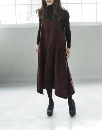 【Checked Dress 】 40,000yen(+tax)