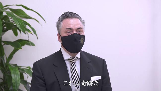 ダニエル・フロシャウアー楽団長(番組内映像より)