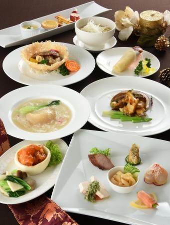 「中国料理 龍鳳」 「クリスマスディナー」