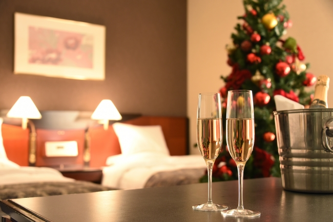 「プレシャスクリスマスステイ」客室イメージ
