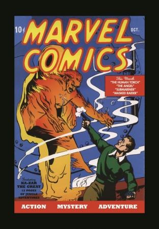 「マーベル・コミックス」 #1(1939年)(C) 2017 MARVEL