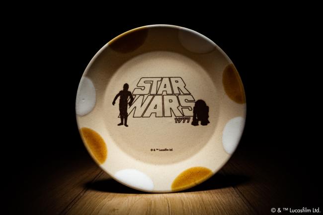 MASHICO/STAR WARS [C-3PO & R2-D2] アンバー/ホワイト