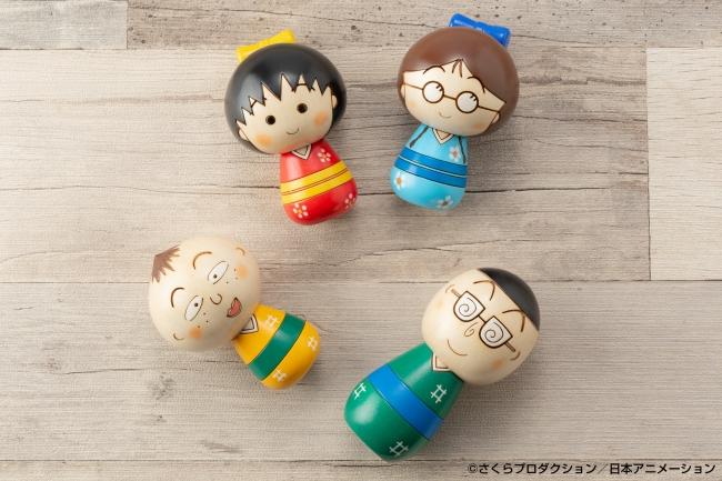 ちびまる子ちゃんこけし by 卯三郎こけし