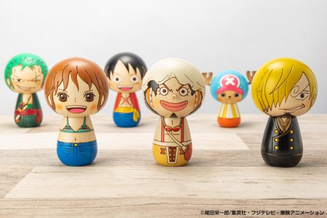 One Piece Kokeshi by Uzasaburo Kokeshi