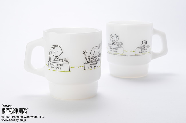 Fire-King スタッキングマグ Peanuts [FOR SALE]