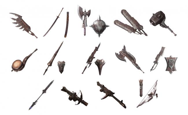 モンハン ワールド 序盤 武器