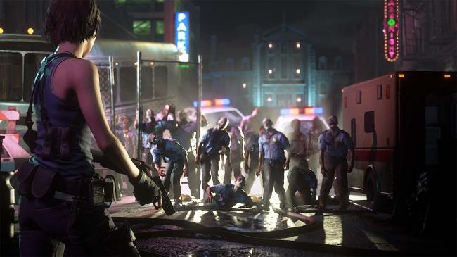 未曽有の恐怖に襲われたラクーンシティ。 ジル・バレンタインの脱出行が描かれる