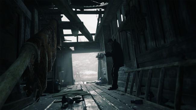 探索の果て、事件の発端ともいえるクリス・レッドフィールドと相まみえるイーサン。決着はつくのかー。