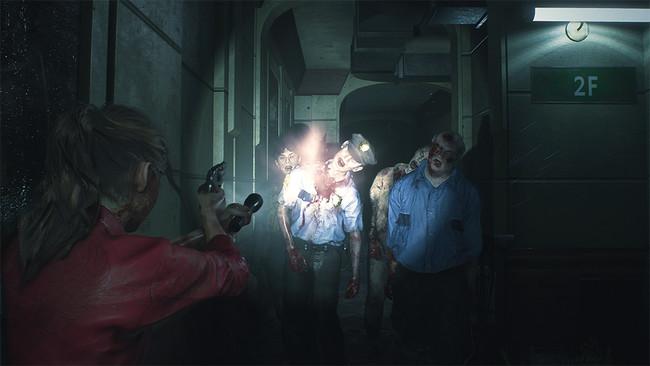 最新の技術で蘇った『バイオハザード RE:2』。