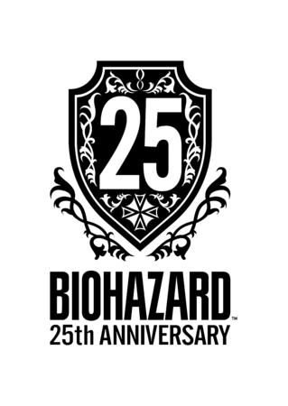 バイオハザード25周年ロゴ