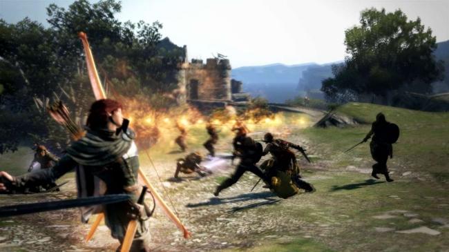多数の弓を横一列に放ち、前方の広範囲を攻撃できる。圧倒的な攻撃範囲で多数の敵をカバーできるのはもちろん、距離が近い敵には多数の矢が命中することになるため、驚異的な攻撃力を見せる。