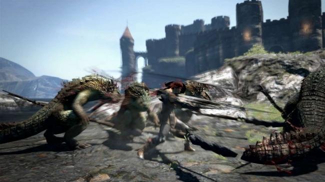 片手剣で左右に周囲を薙ぎ払う範囲攻撃を行う。 スキルの発動の瞬間に無敵時間があり、ダメージを受けている最中でも使用可能なため、周囲を敵に囲まれた状況を打開することができる。
