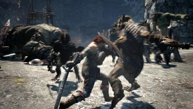 盾で殴りつけて敵をよろけさせる打撃攻撃。 リーチや攻撃力には乏しいが、ガード中の敵でも体勢をすことが可能。
