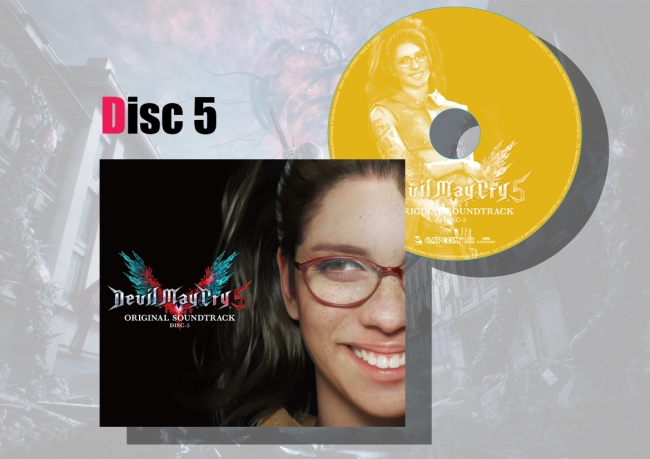 マキシケース&レーベルデザイン Disc5