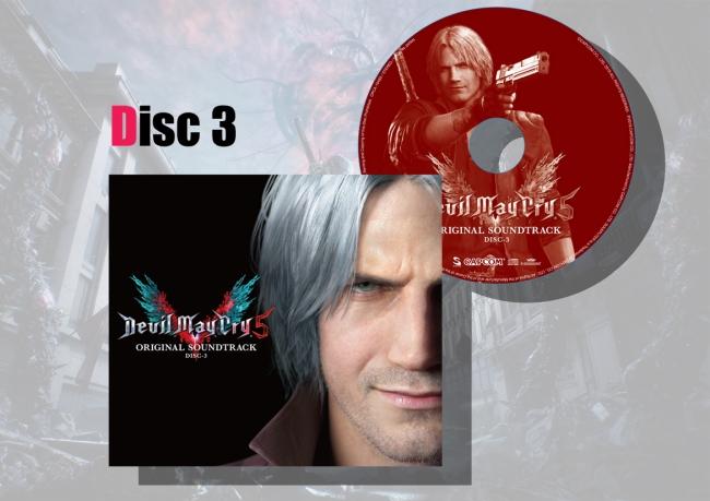 マキシケース&レーベルデザイン Disc3
