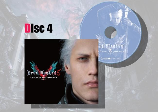 マキシケース&レーベルデザイン Disc4