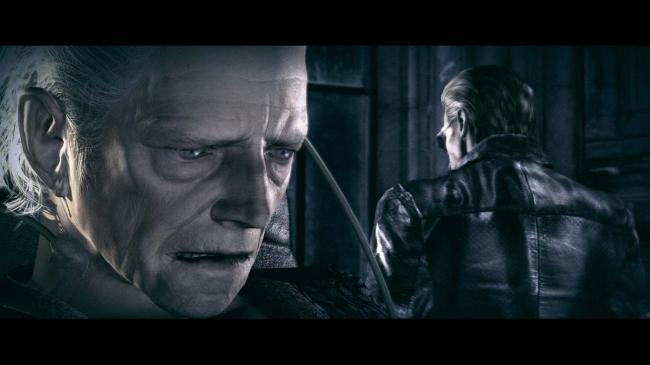 アンブレラ総帥のスペンサー卿とウェスカー。何を語るのか?