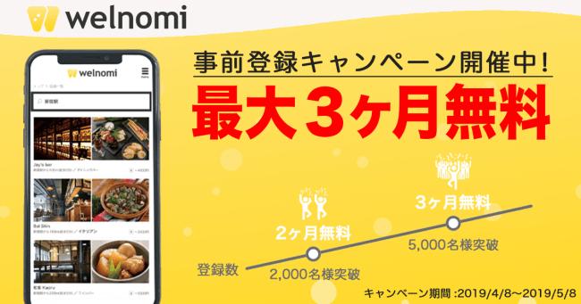 フードメディア(Food Media)が提供するwelnomiのサービス