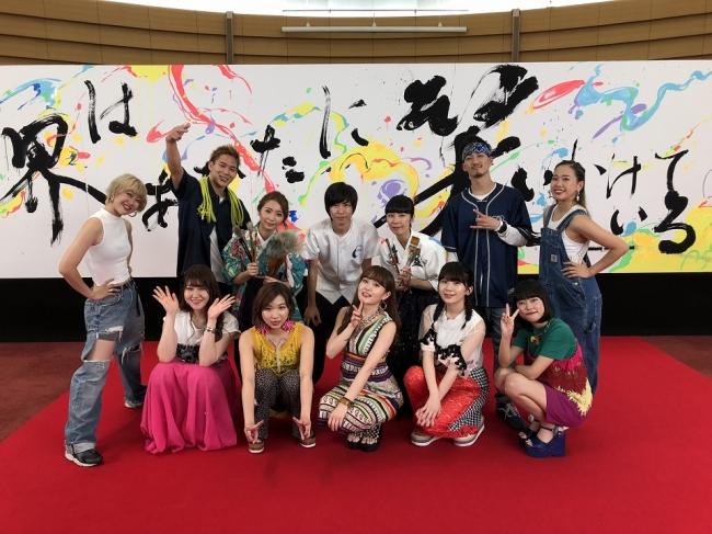 リトグリ 伊藤美誠選手はじめ様々なヒーローと共演 コカ コーラ