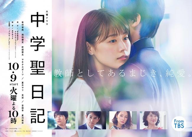 中学聖日記 ポスタービジュアル (C)TBS