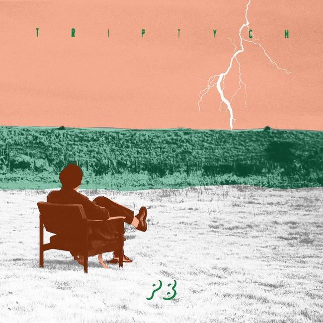 「Triptych」初回盤ジャケット