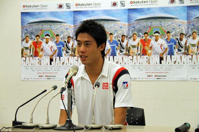日本のエース錦織圭 全米王者マレーらが参戦 楽天ジャパンオープン