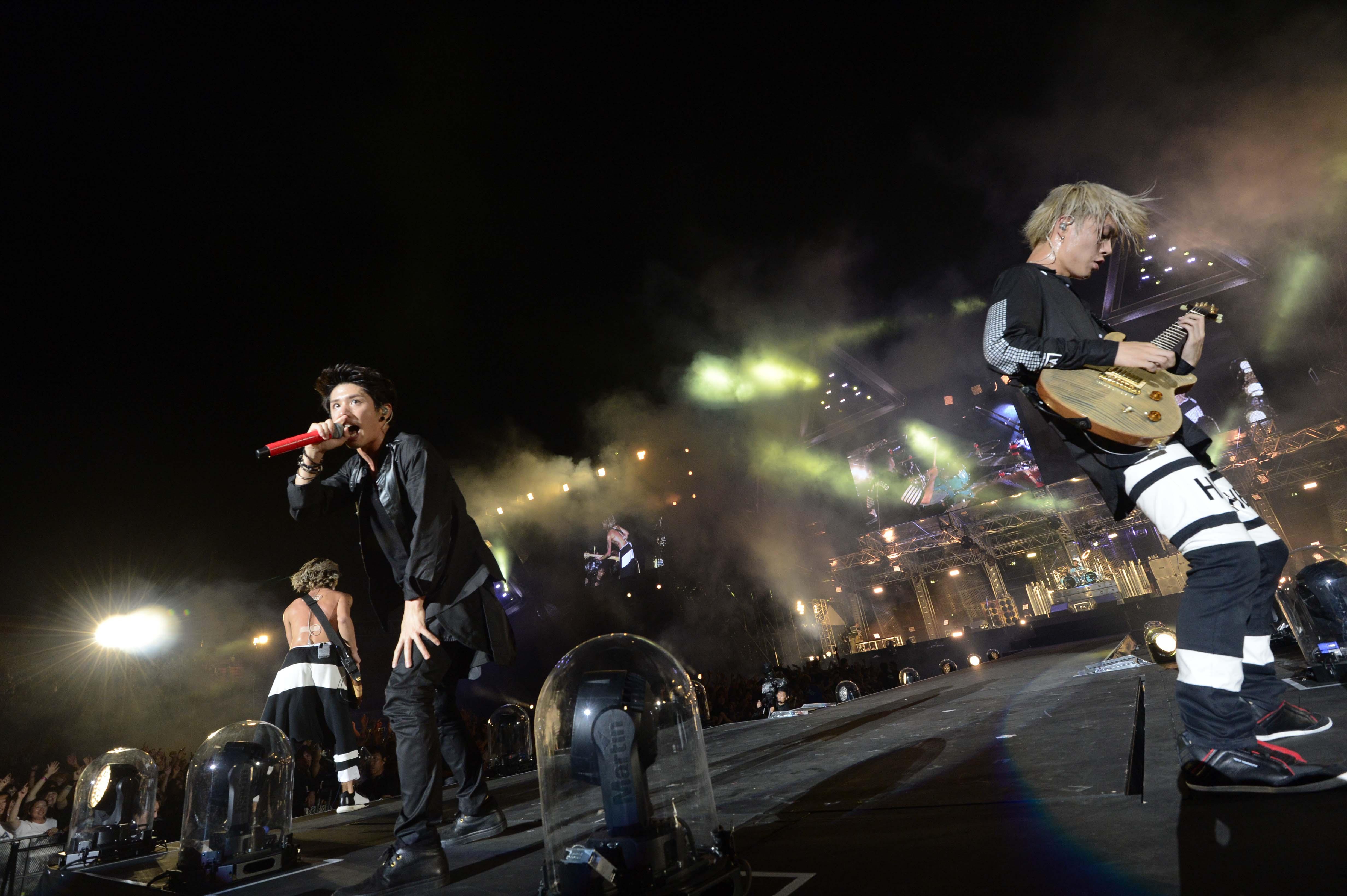 2日間で合計6万人を動員したone Ok Rockの初の野外スタジアムライブの模様をwowowで独占放送 株式会社wowowのプレスリリース