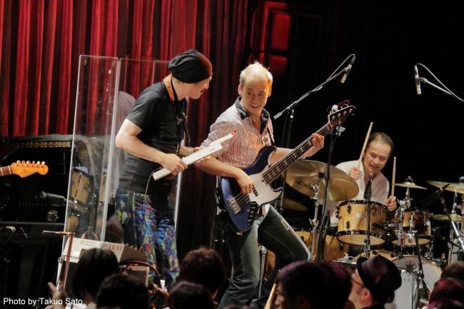 t square初期のメンバーによる the square reunion のブルーノート東京で