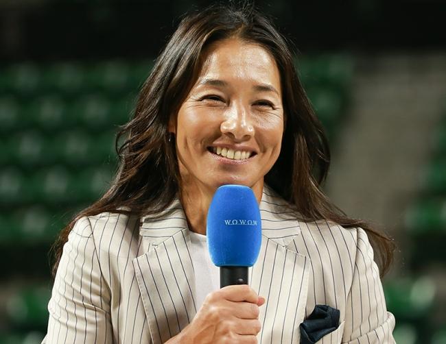 伊達公子さん「WOWOWテニス アンバサダー」に就任!2018年のグランドスラム全大会で現地から出演!