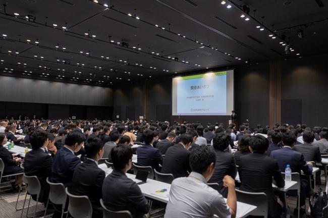 <昨年の日本調剤グループ学術大会の様子>