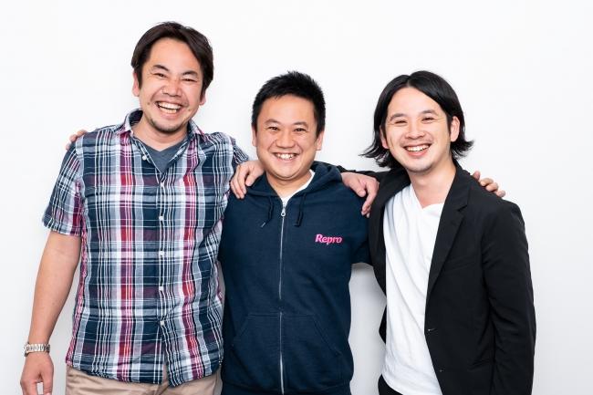 ▲写真左から COO齋藤修氏、CEO平田祐介、執行役員吉澤和之氏