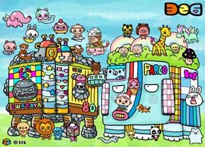 佐賀県出身のイラストレーターナカムラミツルさんによる、手作りマーケットの描き下ろしイラストもイベントを盛り上げます!
