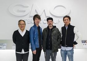 左からLive Nation Japan 代表・竹下フランク氏、GMO Culture Incubation 代表取締役 吉山勇樹 Insomniac Holdings パスクアーレ・ロテラ氏、クリエイティブマンプロダクション代表取締役 清水直樹氏
