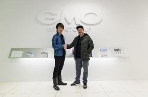 Insomniac Holdings パスクアーレ・ロテラ氏が契約書調印のためGMOインターネットグループを訪問しました。
