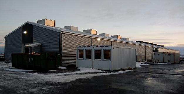 「Z.com Cloud Mining」を行う予定の次世代マイニングセンター外観