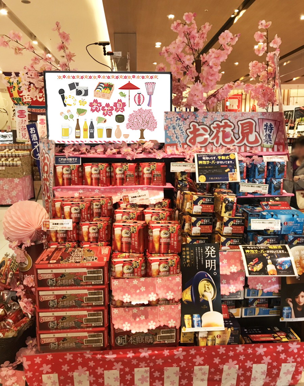GMOクラウド:お花見シーズンの販促効果をAI分析で見える化関西のスーパー「マツゲン」2店舗でGMO ...
