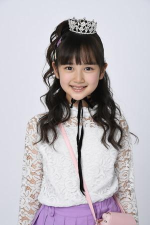 グランプリとおはスタ賞のW受賞を果たした加藤 瑚々奈さん(11歳)