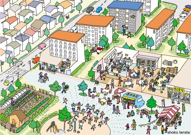 『フードサービス×シェアリングエコノミー』による団地活性化事業の提案募集