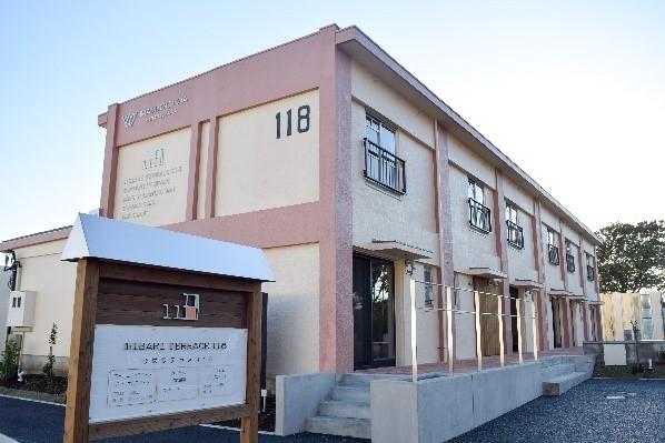 既存のテラスハウスを活用した まちにわ ひばりが丘事務局 「ひばりテラス118」