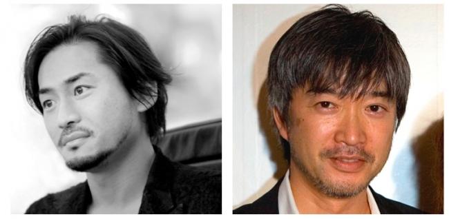 京都のキーノートに登壇する、  ハイパーメディアクリエイター ナカヤマン氏(左)とワコール 広報・宣伝部 部長 猪熊敏博氏(右)