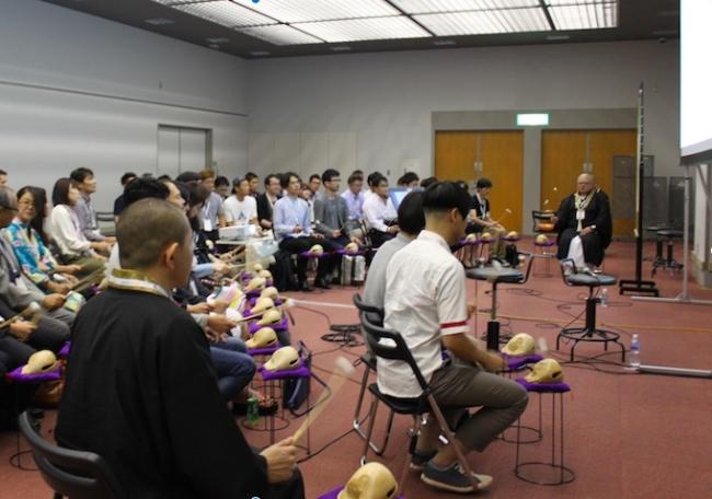 公式セッションには知恩院の九鬼氏が登壇した。
