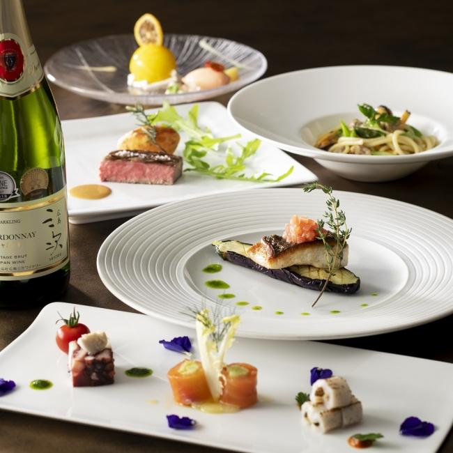 イタリア料理「ラ ヴェラ」ディナーコース(イメージ)